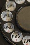 PRS - sluit omhoog de Roterende Telefoon van de Wijzerplaat Stock Foto's