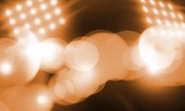 Présentez les lumières Photos libres de droits