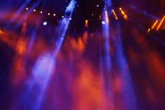 Présentez les lumières Photo libre de droits