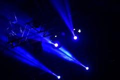 Présentez les lumières Photographie stock libre de droits