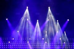 Présentez les lumières Photos stock