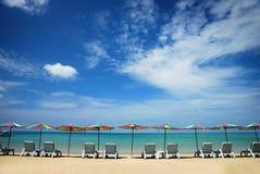 Présidence de plage Image libre de droits