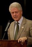 Präsident Bill Clinton Stockbild