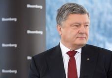 Président de l'Ukraine Petro Poroshenko Image libre de droits