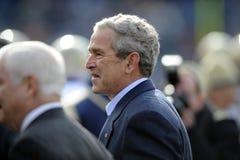 Präsident George Bush Stockbild