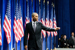 Präsident Obama Lizenzfreie Stockfotos