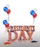 Präsidenten Day Background Lizenzfreies Stockfoto