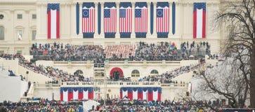 Präsidenteneinweihung von Donald Trump Stockbilder