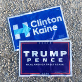 Präsidentenkampagne 2016 Lizenzfreie Stockfotografie