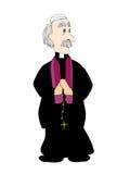 Prêtre catholique Photo stock