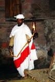 Prêtre de Copte Photographie stock libre de droits