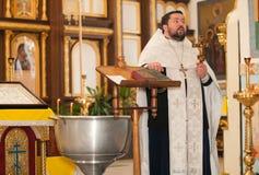 Prêtre orthodoxe Images libres de droits