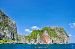 pru Таиланд ket островов архипелага тропический Стоковое Изображение RF