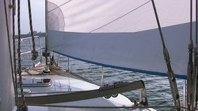 Prua dell'yacht archivi video