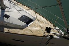 Prua dell'yacht a Brighton, Inghilterra immagine stock libera da diritti