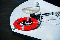 Prua di piccola barca di svago Fotografia Stock