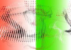 Prucken geometrisk dekorativ minsta papper för rastrerad bakgrund Arkivbilder