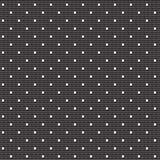 Prucken vit snör åt på svart bakgrund Arkivbild
