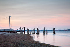 Prudence Island Ferry Landing Images libres de droits