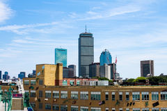 Prudential Building, Boston, MA.  As seen from Fenway Park. Stock Photography