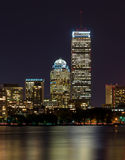 Prudential Center at Night Stock Images