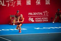 The Prudential Hong Kong Tennis Royalty Free Stock Photo