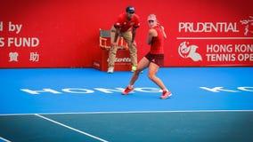 The Prudential Hong Kong Tennis Royalty Free Stock Image