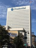 Prudential Plaza Building in Newark, New Jersey Stock Photos