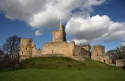 Prudhoe Castle Royalty Free Stock Photo