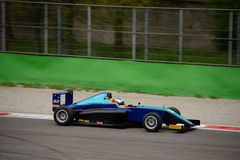 Prueba de la fórmula 4 de Tatuus Abarth en Monza Fotos de archivo libres de regalías