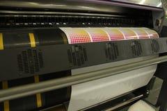 Prueba de la impresión de la impresión de Digitaces   Fotografía de archivo libre de regalías