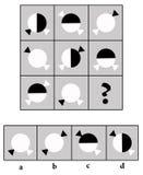 Prueba del índice de inteligencia Imagen de archivo