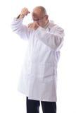Prueba del científico Foto de archivo