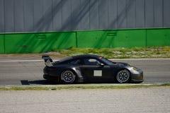 Prueba del GTE de Porsche 911 GT3 RSR en Monza Fotos de archivo libres de regalías