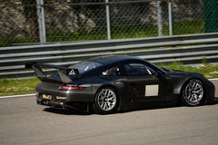 Prueba del GTE de Porsche 911 GT3 RSR en Monza Imagenes de archivo