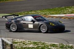 Prueba del GTE de Porsche 911 GT3 RSR en Monza Fotografía de archivo
