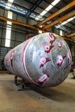 Prueba del tanque de presión. Imagen de archivo