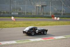 Prueba 2016 del techo duro de Shelby Cobra 289 en Monza Imágenes de archivo libres de regalías