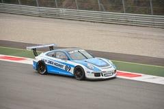 Prueba GT3 2016 de Porsche 911 en Monza Fotografía de archivo libre de regalías