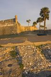 Prueba patrón encontrada en St. Augustine Imagen de archivo
