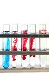 Pruebe los frascos Imagen de archivo libre de regalías