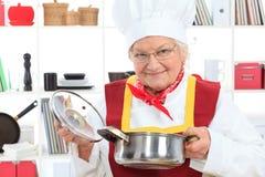 Pruebe una sopa Imagen de archivo libre de regalías