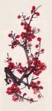 Prugna di Sumi-e royalty illustrazione gratis