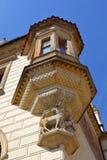 Pruhonice城堡详细资料  免版税库存照片