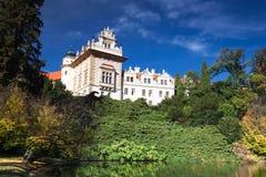 The Pruhonice Castle Stock Image