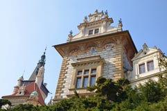 Pruhonice castle, Czech republic Royalty Free Stock Photography