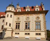 Pruhonice castle, Czech republic Stock Photography