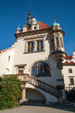 Pruhonice castlle side view Royalty Free Stock Photography