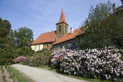 Pruhonice del chateau Immagini Stock Libere da Diritti