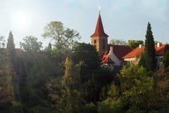 Pruhonice górska chata obraz royalty free